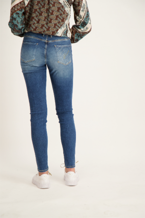 Jean skinny strass aux poches du dos JEGGING Guess