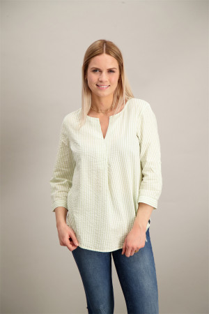 Blouse rayée manches 3/4 retroussables Street One