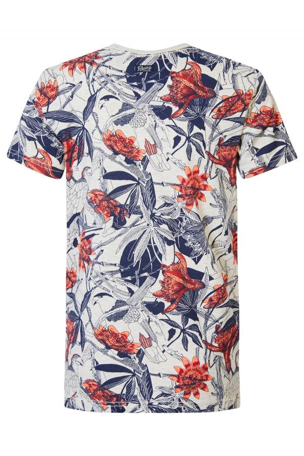 T-shirt manches courtes imprimé Petrol