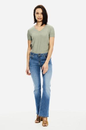 Jean taille haute Emily HW ST RAW MAE Only