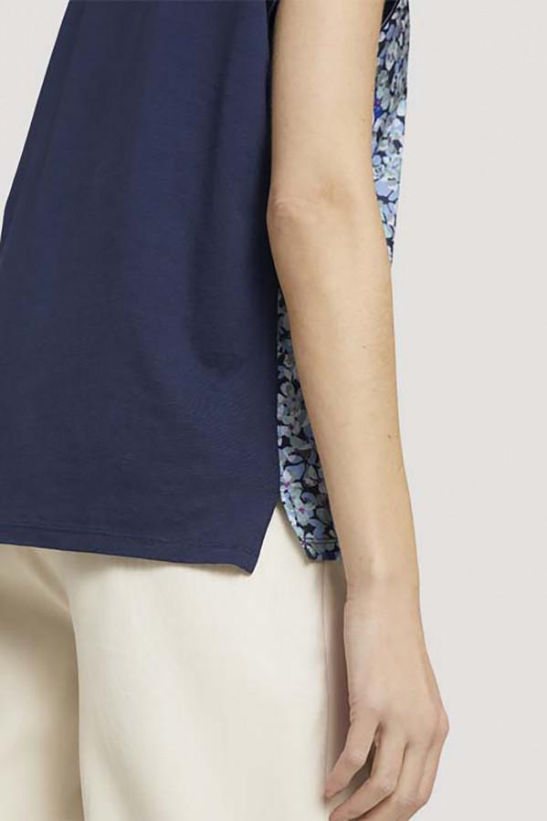 06529dc72a773 Pantalon uni en coton stretch avec poches S.Oliver | Espace Mode