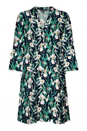 Robe courte ample fleuri manches 3/4 SIMPLY Vero Moda