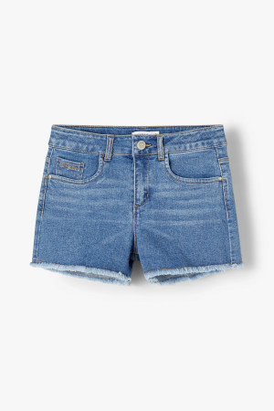 Short en jean Regular bords effrangés RANDI Name It