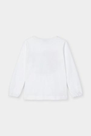 T-shirt imprimé sur le devant avec bandeau en coton Mayoral