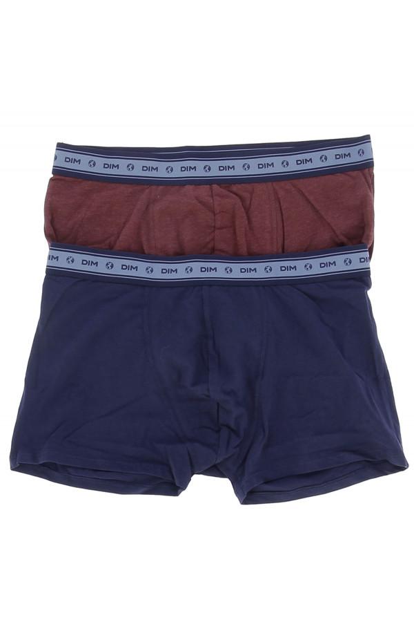 Lot de 2 boxers taille élastique imprimée DIM