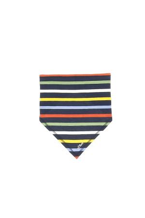Bandana imprimé rayé ou uni en coton stretch S.Oliver