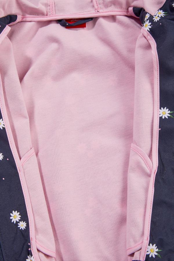 Parka fleuri à capuche avec poches S.Oliver