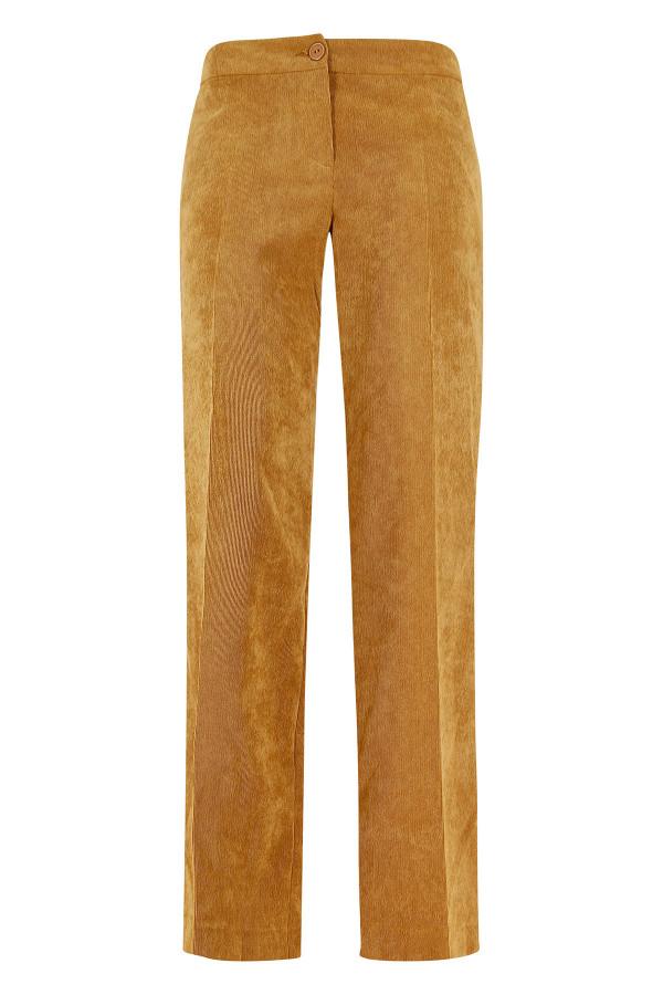 Pantalon larges uni côtelé sur l'ensemble Signe Nature