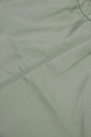 Jupe unie courte en similicuir avec poches Garcia