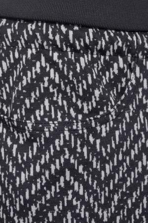 Jupe courte imprimée graphique avec cordon à la taille Street One