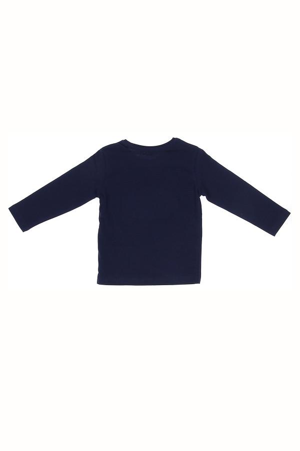 T-shirt en coton avec pastilles devant Losan