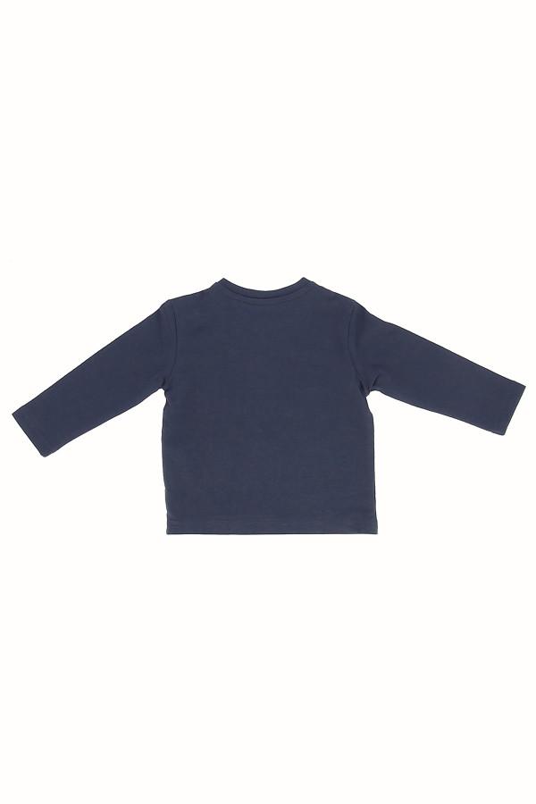 T-shirt avec impression devant en coton manches longues Losan