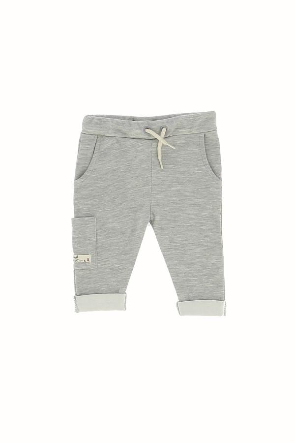 Pantalon uni avec taille ajustable poche sur le côté Losan