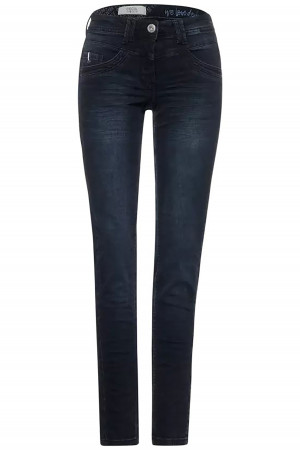 Pantalon noir  fleuri Laila Black Print Vero Moda
