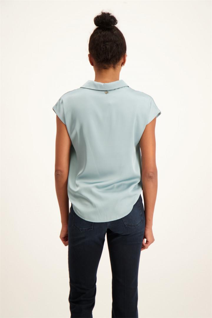 Pantalon uni avec biais contrastants POP TRASH Only
