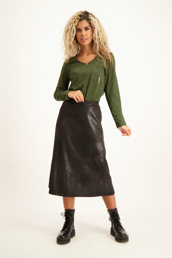 Jean en coton stretch modèle froissé Please