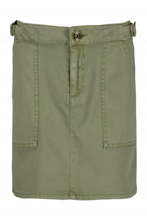 Jupe unie avec poches à l'avant taille ajustable Garcia