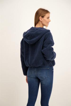 Doudoune unie à capuche NICOLET Cars Jeans