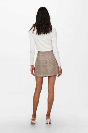 Pull court manches 1/2 en maille Signe Nature