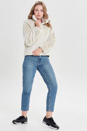 Pantalon uni taille élastique avec liens à nouer S.Oliver