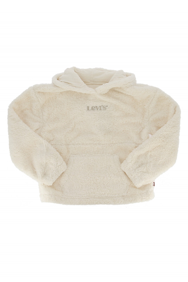 Sweat en teddy avec poche kangourou Levi's