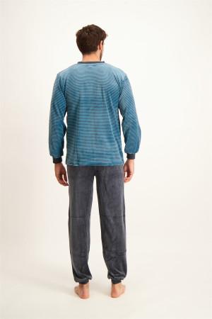 Pantalon chino structuré uni Tom Tailor