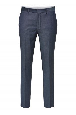 Robe courte unie en lurex et poche poitrine S.Oliver