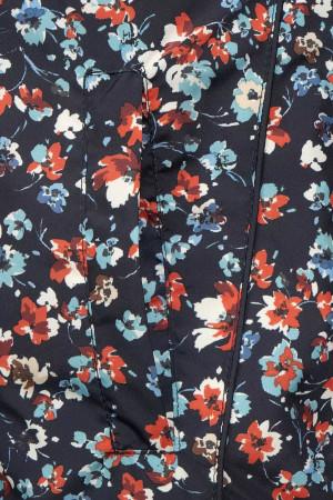 Robe courte imprimé fleuri taille élastique Signe Nature