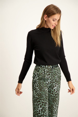 Pull oversized manches 3/4 en maille Camille Orfeo