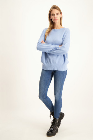 Pantalon en coton stretch taille élastique S.Oliver