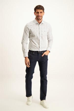 Pantalon uni skinny taille mi-haute ONLY