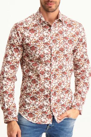 T-shirt avec dos fleuri et tulle Dana Week-End à la Mer