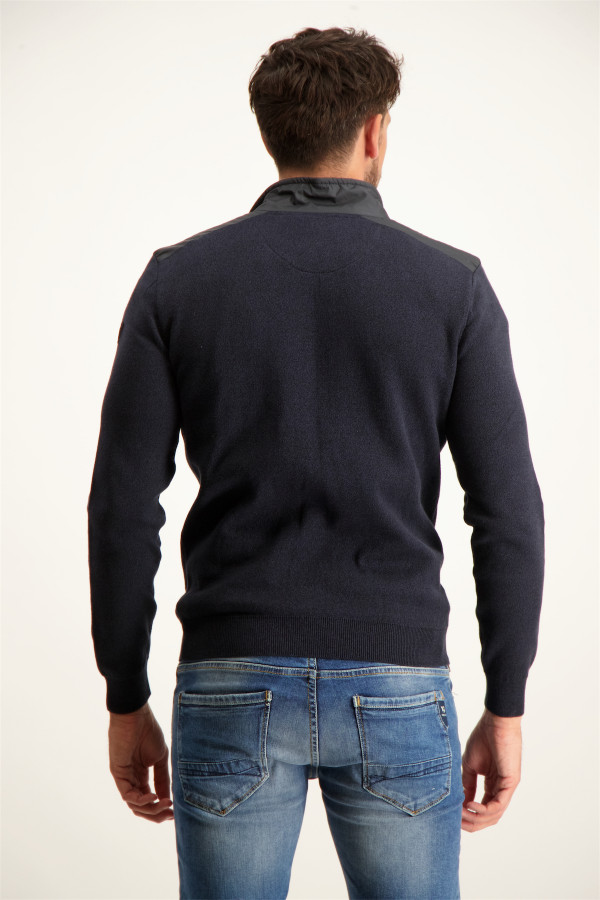 Pull en tricot avec bords roulottés ANTON Jack & Jones