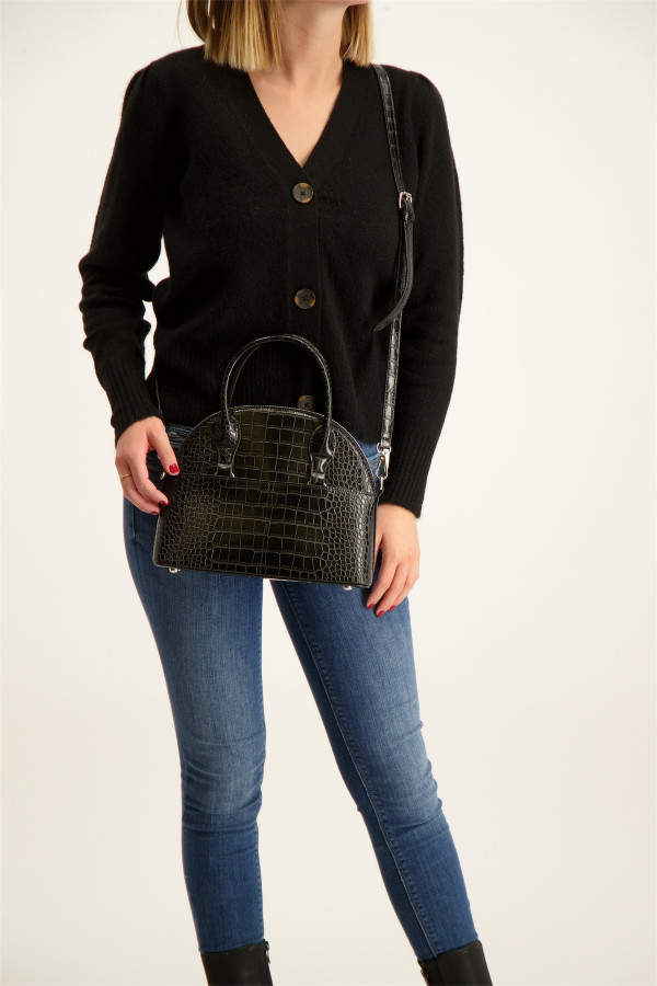 Femme Jupe longue en dentelle noir Guess Noir
