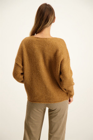 Pull chiné en fine maille TRACY Only Kids