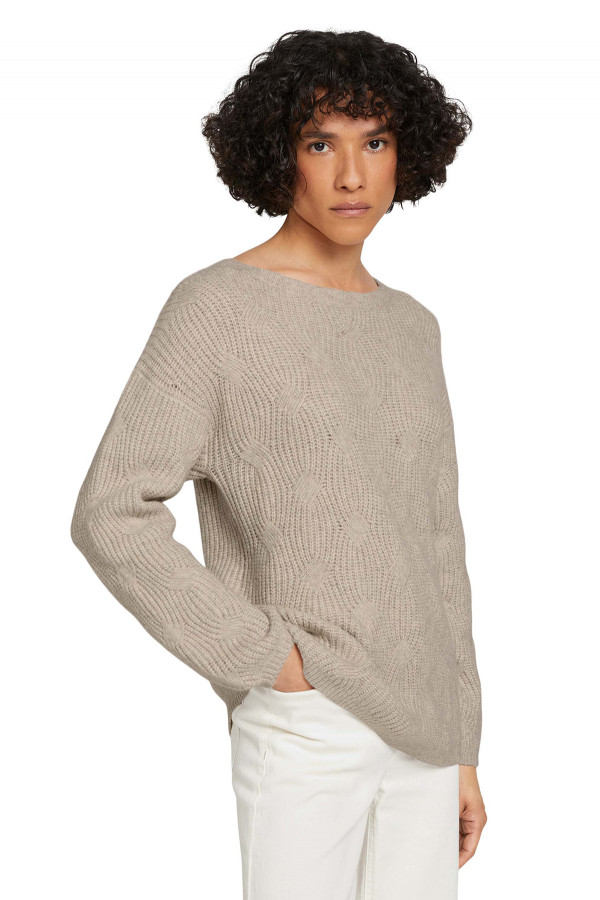 Pull chiné en fine maille CALL KNIT Only & Sons