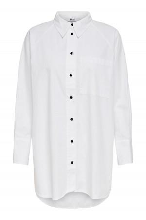 Chemise unie avec poches poitrine en coton SELMA Only