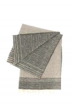 Polo en coton piqué bords rayés contrastants Lyle & Scott