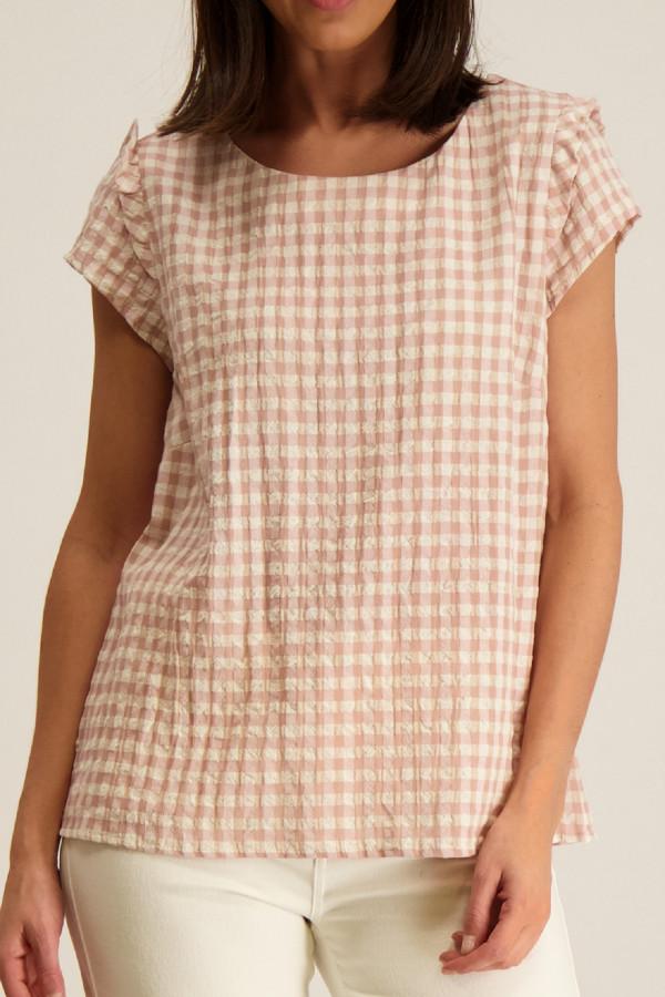 T-shirt en coton image imprimée devant CARLY Kids Only