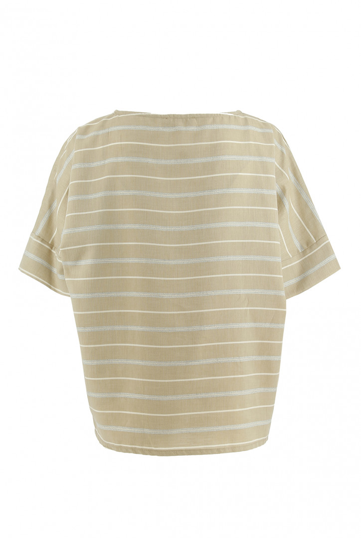 T-shirt uni oversized en jersey flammé Cami Only