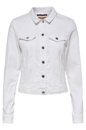 Veste en jean blanche Tia White Only