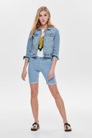 Veste en jean stretch délavé Tia Jacket Only