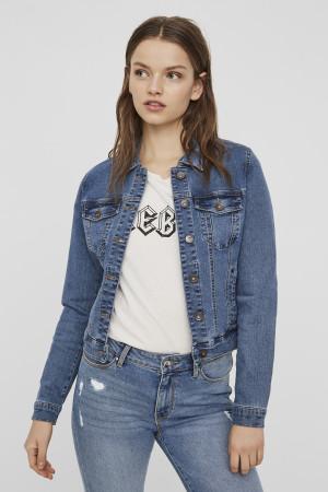 Women/'s Vero Moda Hot Soya Veste en jean en blanc