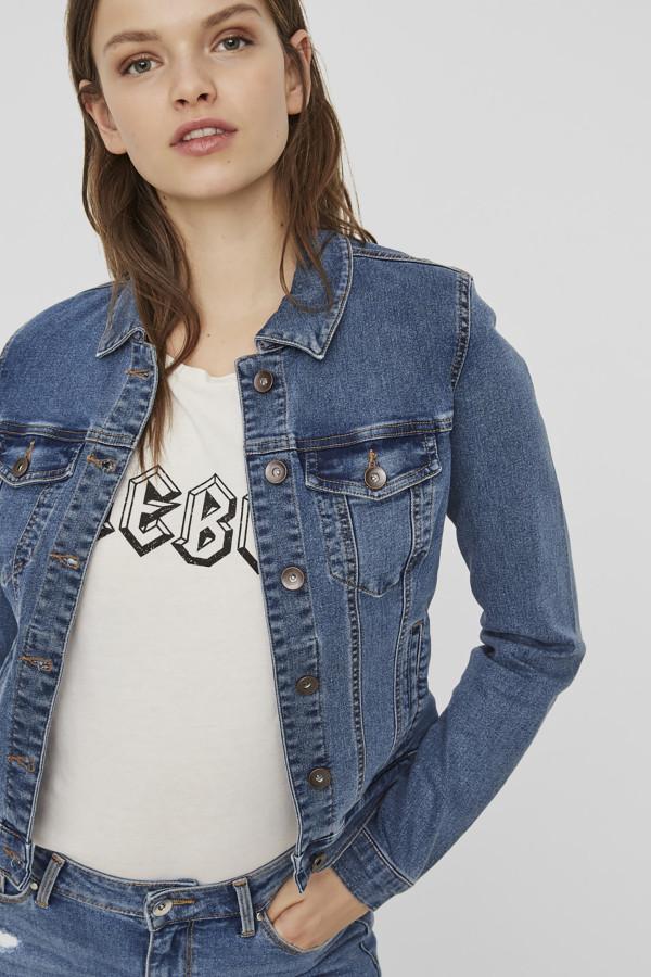 Veste en jean basique avec poches HOT SOYA Vero Moda