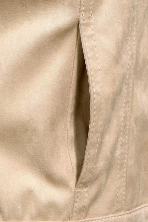 Veste unie en velours avec boutons et poches Street One
